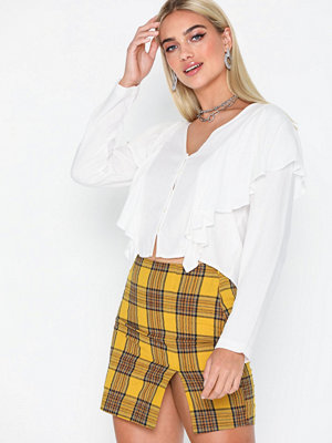 NLY Trend Checked Mini Skirt