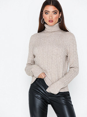 Selected Femme Slfcosta Ls Knit Rib Rollneck B