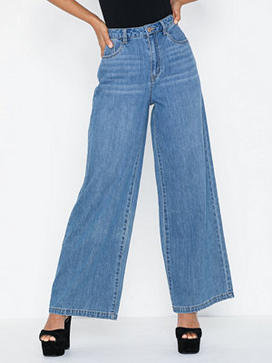 Noisy May Nmlulu Hw Reg Wide Jeans JT039MB