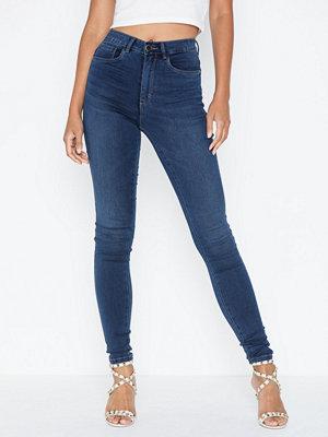 Only marinblå byxor Onlroyal Hw Skinny Jeans Bb BJ13964