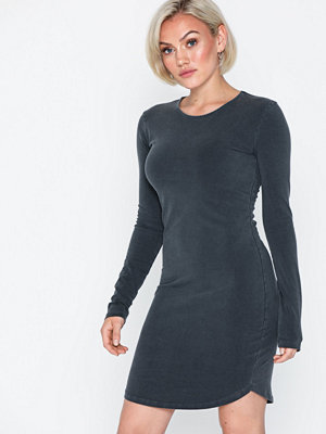 NLY Trend Washed Out Round Neck Dress