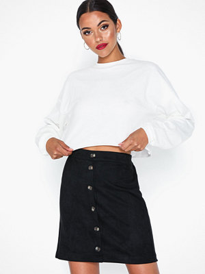Pieces Pcjola Hw Skirt D2D Svart