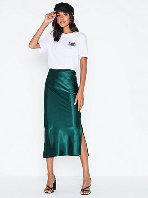 Ax Paris Satin Skirt