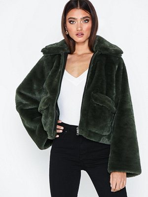 Fuskpälsjackor - Selected Femme Slftrina Faux Fur Jacket