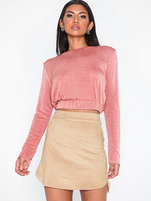 Kjolar - NLY One Suede Skirt