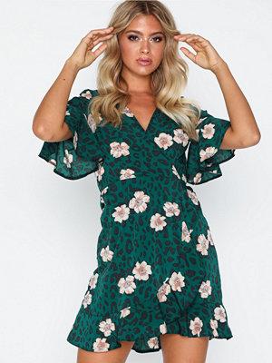 Festklänningar - Ax Paris Floral V Neck Dress