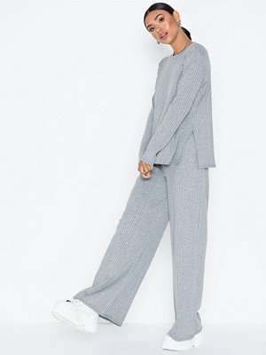 NLY Trend Wide Rib LS Set