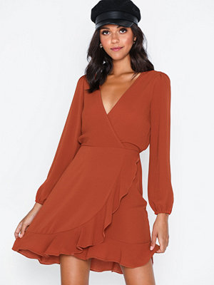 Ax Paris V Neck Flounce Dress