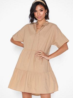 Pieces Pcmarry Ss Dress D2D Ljus Rosa