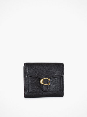 Coach svart väska Polished Pebble Tabby Small Wallet