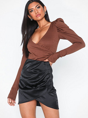 NLY One Satin Wrap Skirt