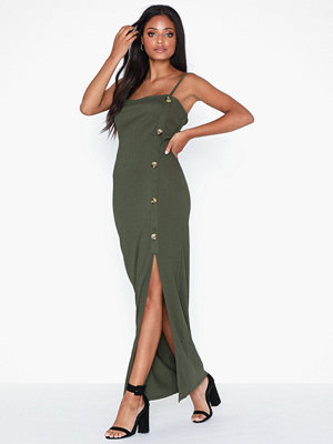 River Island SL Textured Button Dress