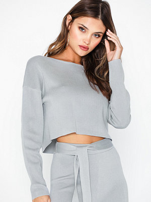 Missguided Drop Shoulder Long Sleeve Top