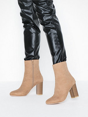 NLY Shoes Flirty Rounded Boot