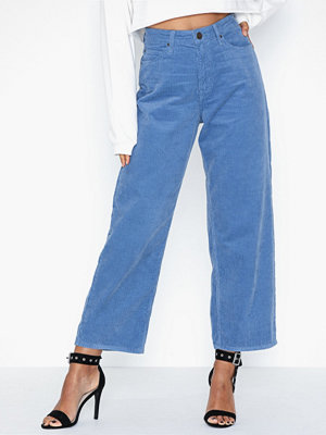 Lee Jeans 5 Pocket Wide Leg Frost Blue