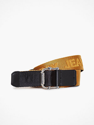 Tommy Hilfiger Tjw Rev Webbing Belt Gold