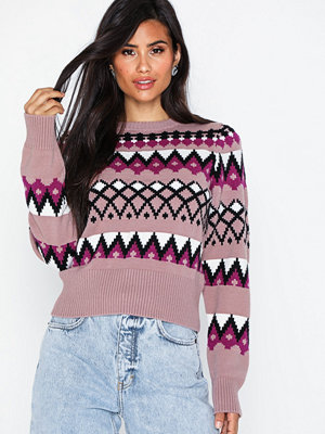 NLY Trend Retro Jacquard Knit