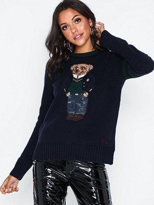 Tröjor - Polo Ralph Lauren Bear-Long Sleeve-Sweater