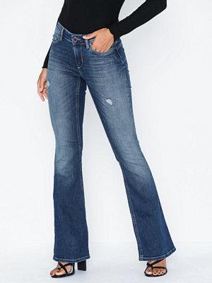 Only Onljo Reg Flared Dnm Jeans REA10032