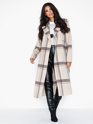 Selected Femme Slftana Ls Check Coat B