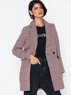 Only Onlselena Check Wool Coat Cc Otw