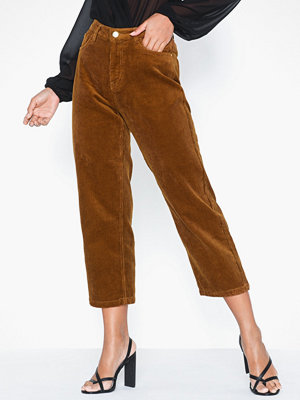 Only bruna byxor Onlbitten Mid Cord Pant Pnt