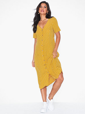 Pieces Pccoya Ss Midi Dress