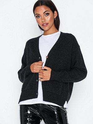 Polo Ralph Lauren Cardigan-Long Sleeve-Sweater Charcoal