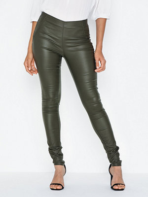 Object Collectors Item Objbelle Mw Coated Leggings Seasona