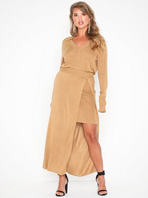 NLY Trend Double Layer Knit Skirt