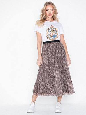 MOSS Copenhagen Kenna Mesh Skirt Aop