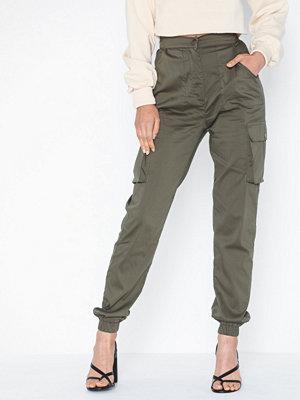 Parisian grå byxor Utility Cargo Trousers