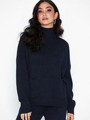 Selected Femme Slfeya Cashmere Ls Pocket Knit B