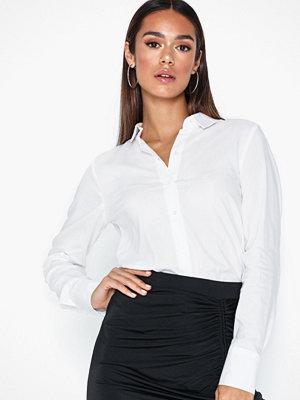 Skjortor - Vero Moda Vmtanya Plain Ls Shirt Ga Noos