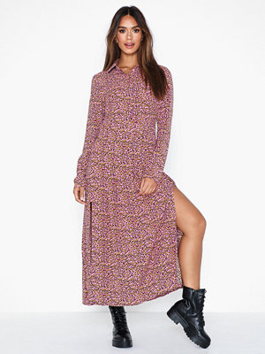 Glamorous Long Sleeve High Neck Dress