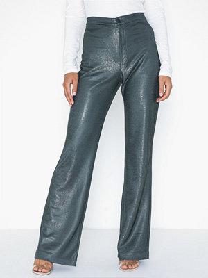 Filippa K grå byxor Nyx Lurex Trouser