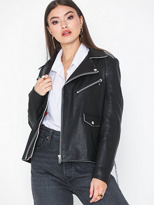 Skinnjackor - NORR Robin leather jacket