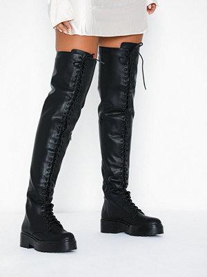 NLY Shoes Daring Lace Up Boot