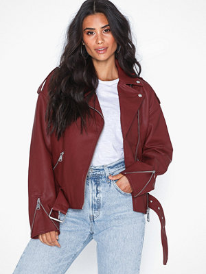 Missguided Boyfriend Biker Jacket