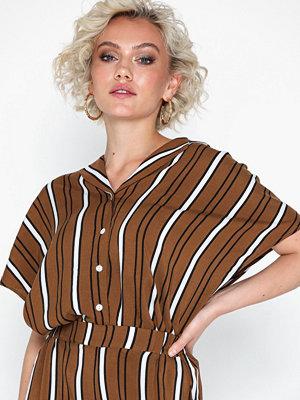 Blusar - Vila Villacoola Stribe S/S Shirt