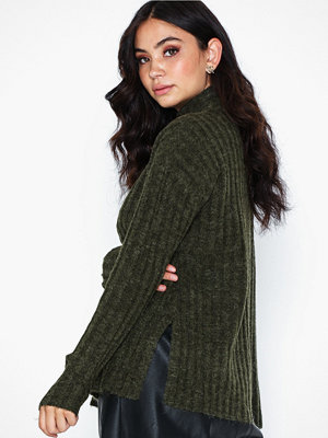 Pieces Pcnew Sanni Ls Wool Knit Noos