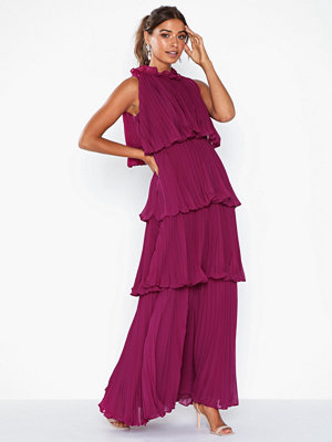 True Decadence Maxi Plisse Dress