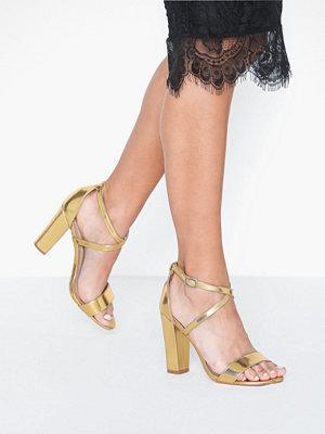 Glamorous Glamorous Metallic Heeled Sandal
