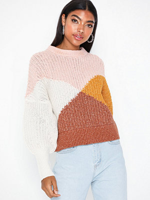Object Collectors Item Objmelody Camper L/S Knit Pullover