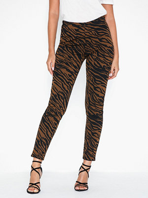 Pieces Pcibrea Mw Jacquard Leggings