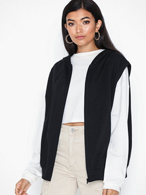 Street & luvtröjor - NLY Trend Sweat Hoodie Vest