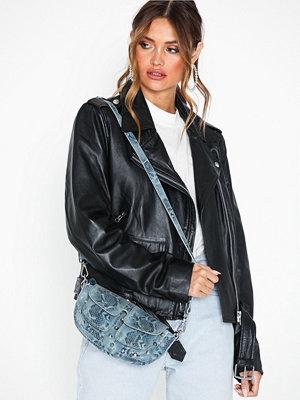 Unlimit mönstrad axelväska Shoulder Bag Ellery Blå