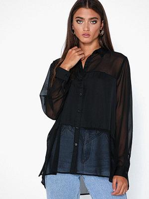 Only Onlfrans L/S Shirt Wvn