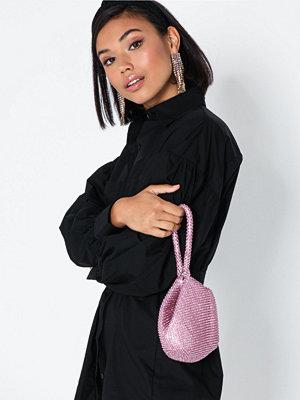 Handväskor - NLY Accessories Rhinestone Pouch Bag