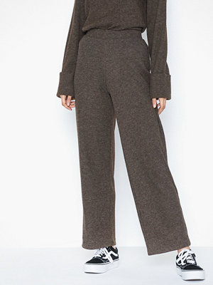 Pieces grå byxor Pchermione Mw Pants
